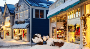 The One Town In Maine That Turns Into A Winter Wonderland Each Year