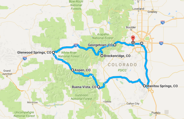 The Magical Road Trip Will Take You Through Colorado S Most Charming