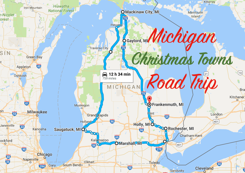 take a road trip to 8 of michigan u0026 39 s most magical christmas