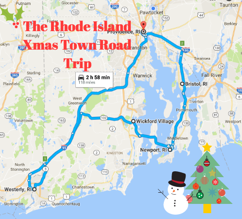 Take This Rhode Island Christmas Town Road Trip