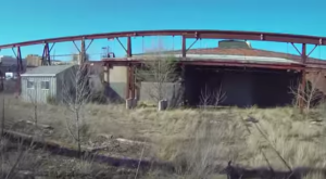 Drone Footage Captured At This Abandoned Kansas Factory Is Truly Grim