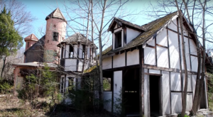 The Remains Of An Abandoned Reniassance Festival Are Decaying Deep In The Woods