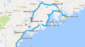The Magical Road Trip Will Take You Through Maine's Most Charming Christmas Towns