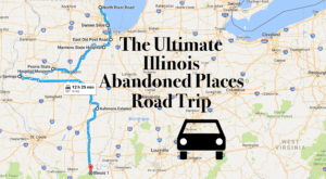 We Dare You To Take This Road Trip To Illinois' Most Abandoned Places