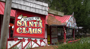 There's Something Darkly Whimsical About This Abandoned Christmas Village