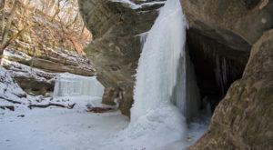 2. Vermillion River Waterfall, Matthiessen State Park