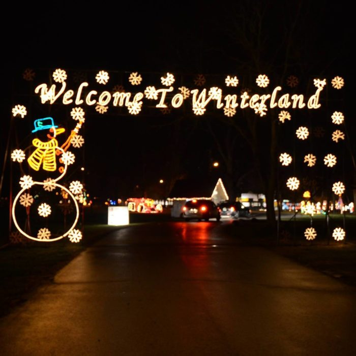 See 9 Of The Best Christmas Light Displays In Indiana On This Road Trip