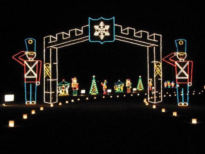Christmas Lights Tour Huntsville Alabama