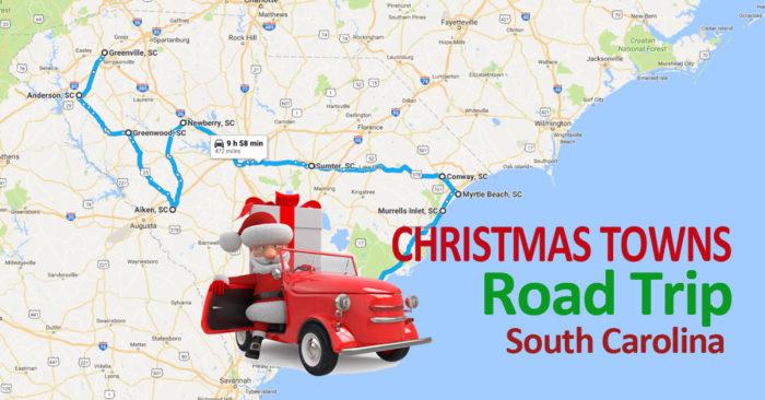 The Jolly Road Trip Through South Carolina's Christmas Towns