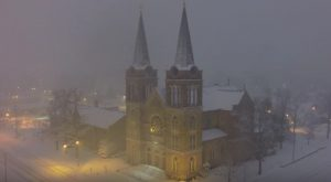 The Winter Footage This Drone Caught In Alabama Will Absolutely Mesmerize You