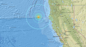 A Magnitude 6.5 Earthquake Rocked The Coast Of Northern California This Morning