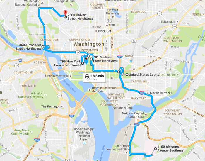 6 Best Road Trips in Washington DC in 2017 – Tourist Map Washington DC