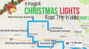 The Most Magical Christmas Lights Road Trip Through Idaho: Part II