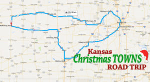 The Magical Road Trip Will Take You Through Kansas's Most Charming Christmas Towns