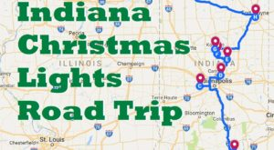 The Christmas Lights Road Trip Through Indiana That's Nothing Short Of Magical