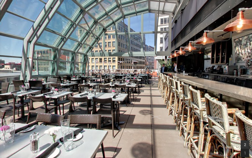 Union Restaurant Has A Rooftop Patio You Can Enjoy In The