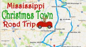 The Magical Road Trip Will Take You Through Mississippi's Most Charming Christmas Towns