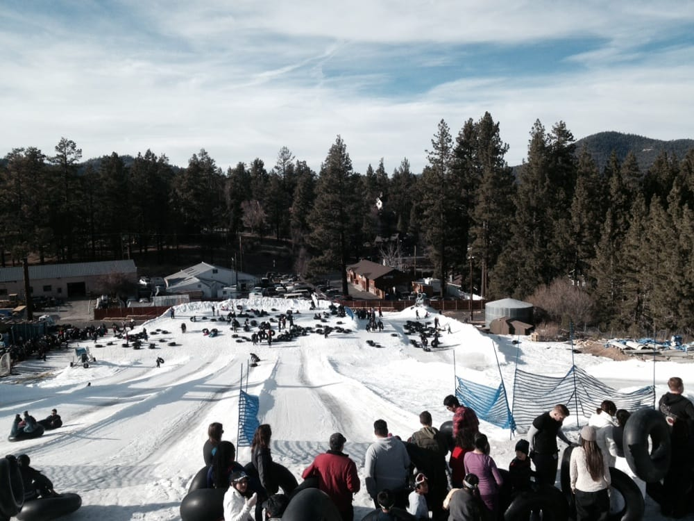 The Best Tubing Hill In Southern California Big Bear S