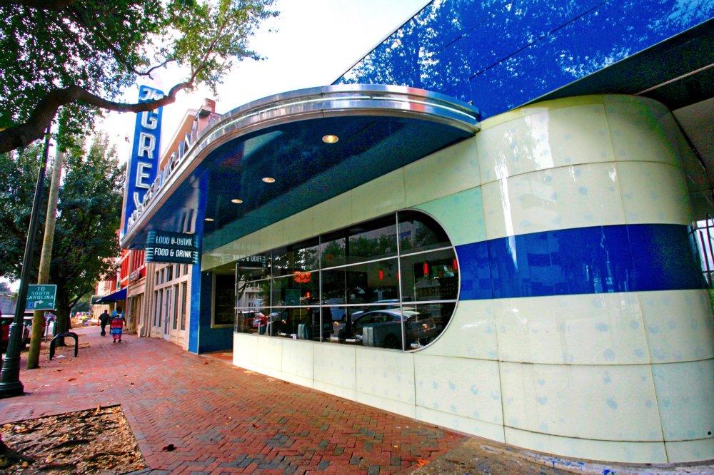 The Bus Depot Turned Restaurant In Savannah Georgia