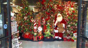 Walk through the front doors into a Christmas Wonderland!
