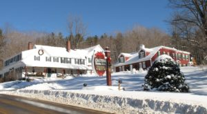 The Christmas Inn and Spa in Jackson is an inn, spa, restaurant and pub where it is Christmas year round.