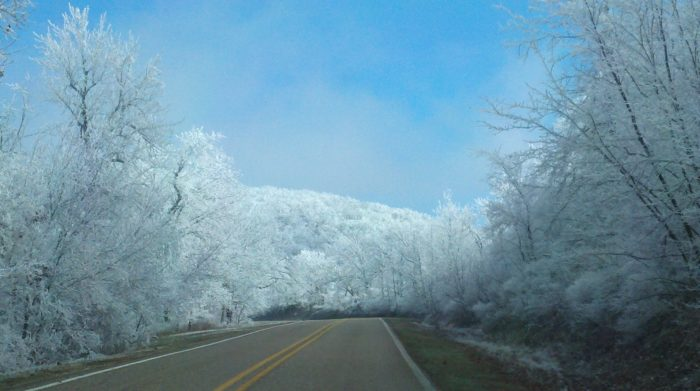 Drive A Tank >> Best Winter Scenic Drive In Oklahoma: Talimena National Scenic Byway