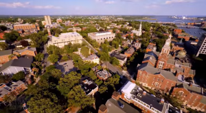 A Drone Flew Over The Capitol City Of Rhode Island And Captured Mesmerizing Footage