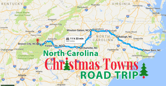 Take This Magical Road Trip Through 9 North Carolina Christmas Towns