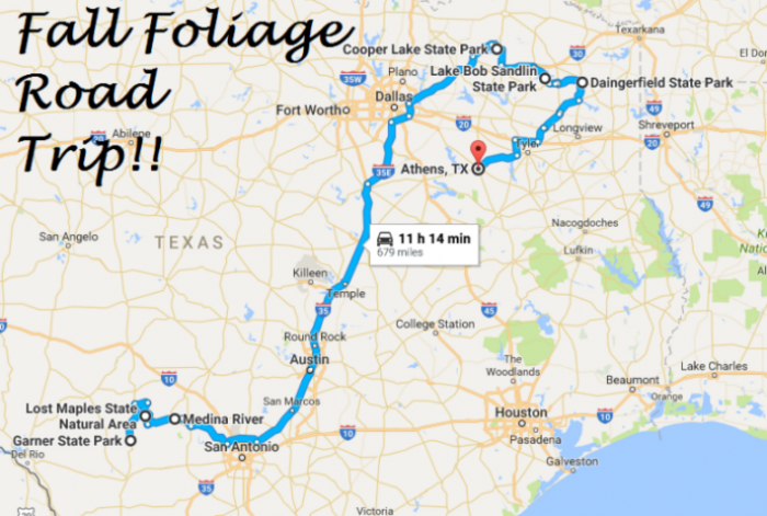 16 Amazing Unforgettable Texas Road Trips To Take