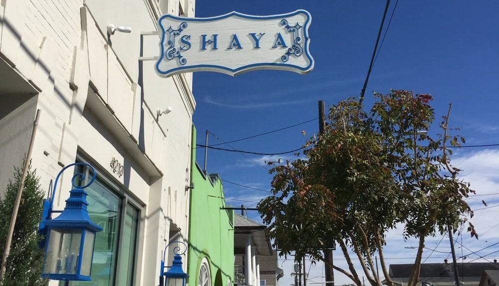 Shaya Restaurant Menu