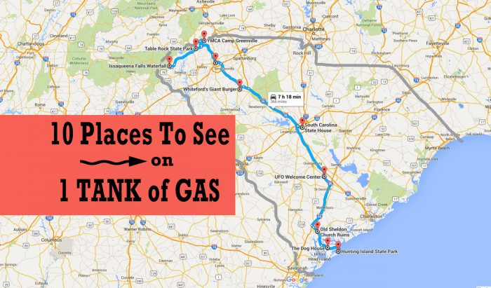 how to plan a road trip on google maps