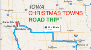 The Magical Road Trip That Will Take You Through Iowa's Most Charming Christmas Towns