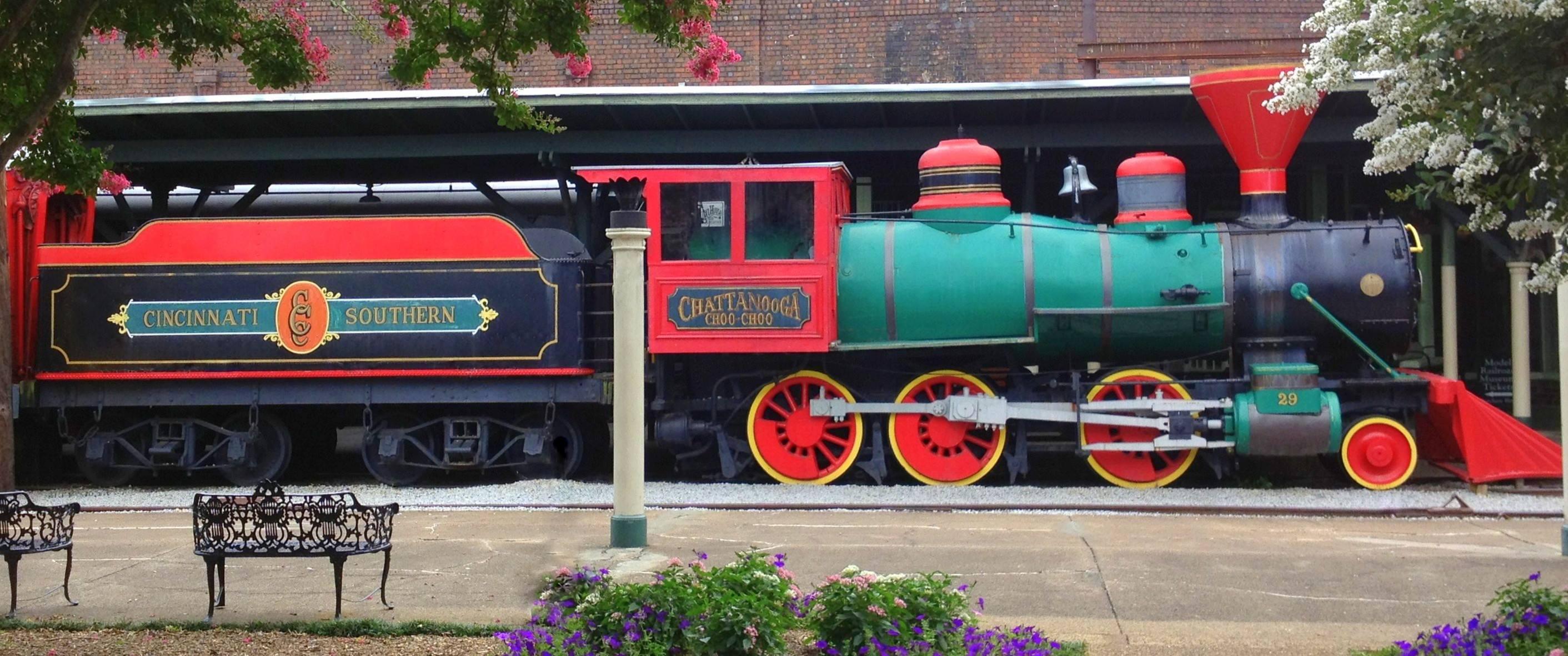 The Chattanooga Choo Choo Is The Best Train Themed