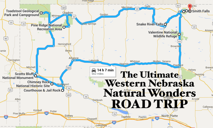 7 Thrilling Road Trips To Take In Nebraska In 2017