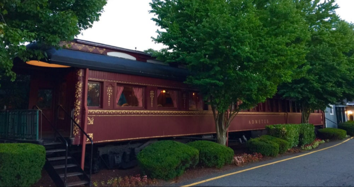 Rent A Car Nj >> Rods Steak And Seafood Grille Offers Train Car Dining In ...
