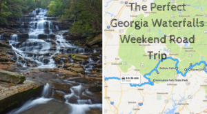 Here's The Perfect Weekend Itinerary If You Love Exploring Georgia's Waterfalls