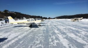 The Unique Ice Runway Hiding In New Hamsphire That Will Leave You Breathless