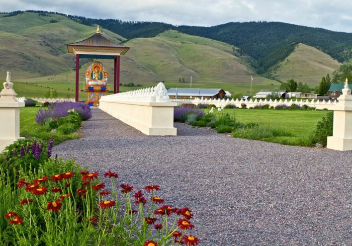 The garden of 1 000 buddhas is the most enchanting place in montana Garden of one thousand buddhas