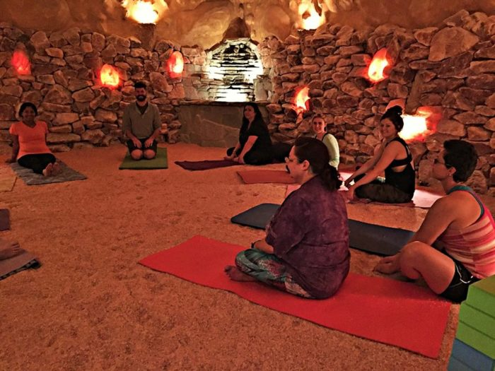 Salt Oasis In Southern California Has A Healing Relaxing