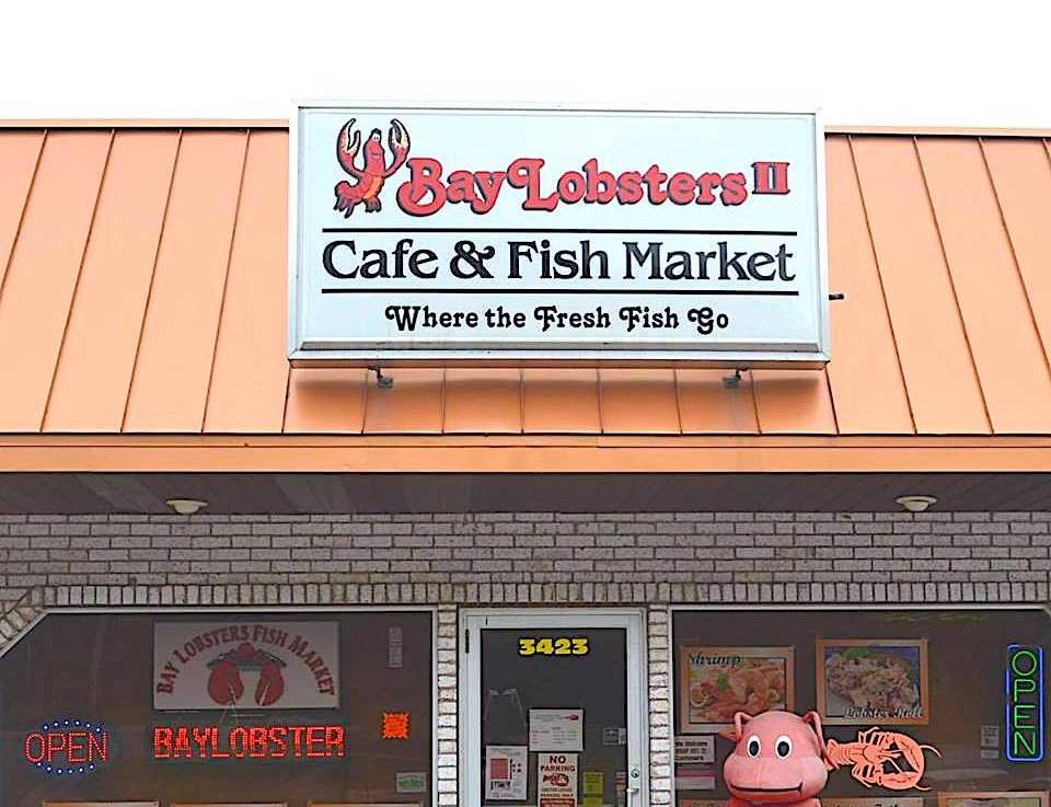 Best fish market in ohio bay lobsters cafe fish market for Fish market jacksonville