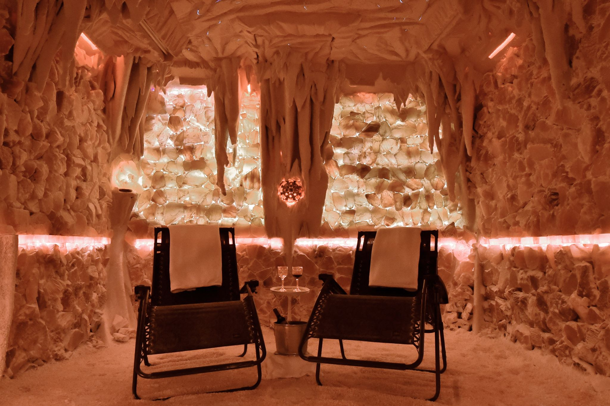 The Salt Cave In South Carolina Is A Relaxing Himalayan