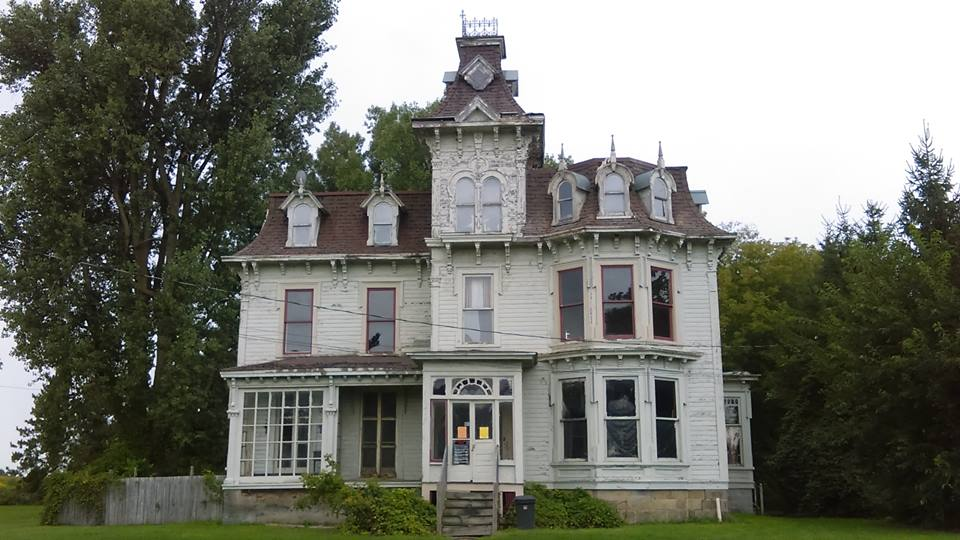 The bruce mansion in michigan has a frightening and deadly for Building a home in michigan