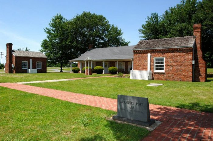 Arkansas Post The Oldest Settlement In Arkansas Is Now A State Park