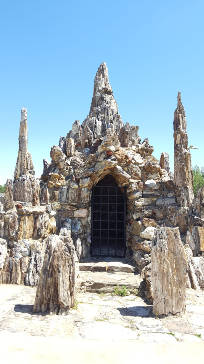 Visit The World S Largest Petrified Wood Park In South