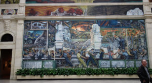 Most People Don't Know The Story Behind These Massive Murals In Michigan