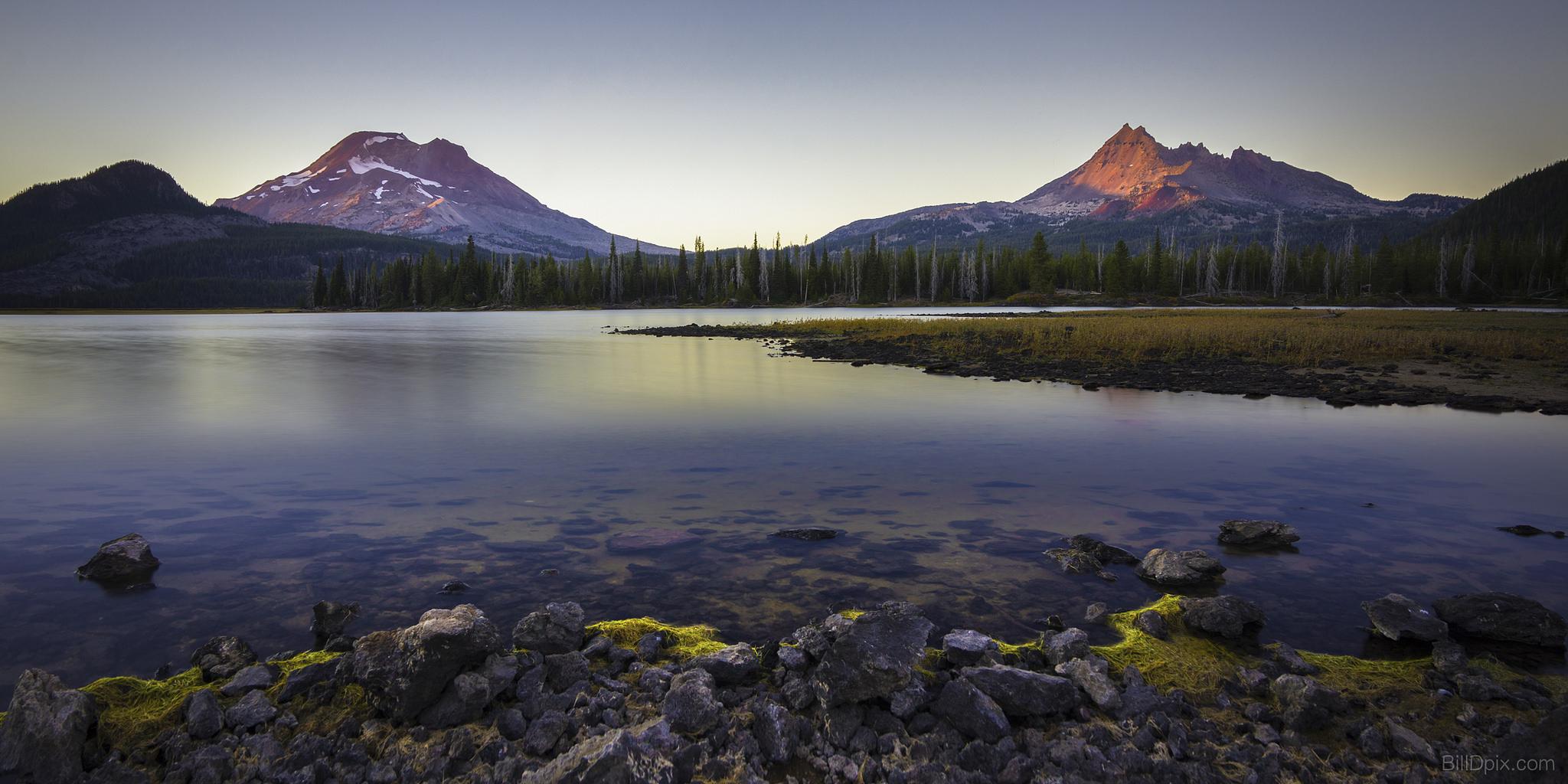 Virginia Water Lake >> Sparks Lake Is A Beautiful Hidden Gem In Oregon