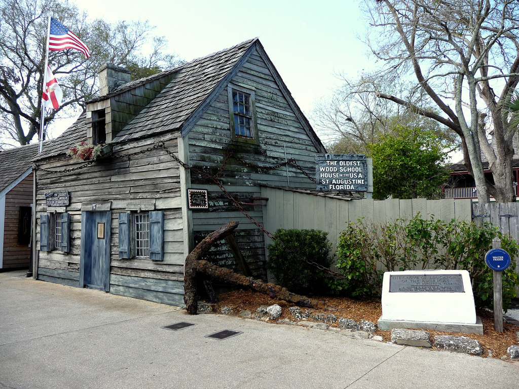 The Oldest Wooden Schoolhouse In America Located In St