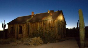 Get A Glimpse Of The Old Arizona At This Abandoned Mine And Ghost Town