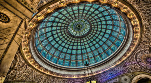 The World's Largest Tiffany Dome Is Right Here In Illinois And It Will Take Your Breath Away