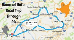 The Haunted Hotel Road Trip Across Pennsylvania That Will Give You Nightmares